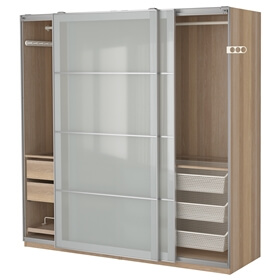 Garderober for Ikea armadi scorrevoli