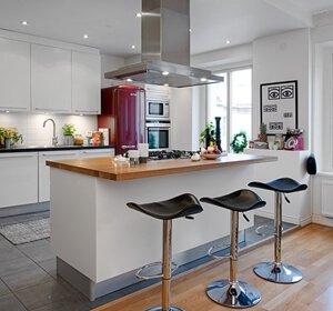Nedan en bild på en fastmonterad köksö lånad från sidan nouw ...